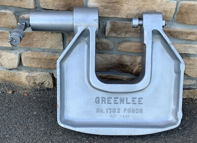 Greenlee 1732 C-frame Hydraulic Knockout Punch Driver 5