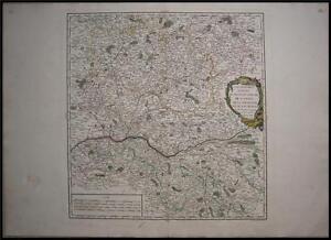 1753-Original-Vaugondy-Map-of-Maine-Anjou-Perche-France