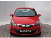 Vauxhall Corsa EXCITE AC CDTI ECOFLEX (red) 2014-11-28