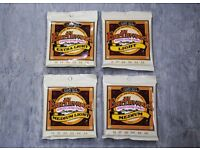 Ernie Ball Earthwood Acoustic Guitar Strings Various Sizes 2 for £12