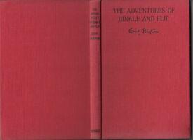 The Adventures of Binkle And Flip Enid Blyton 1954 Illus. Nixon HB Free UK p+p!