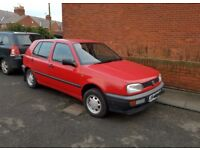 J Reg Volkswagen Golf **LOW MILEAGE FOR AGE**