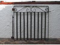 Reclaimed Wrought Iron Gate 3ft x 3ft (95cm x 92cm) - Garden / Driveway Antique