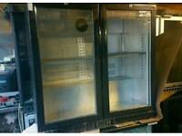 Commercial drinks chiller fully working with guaranty
