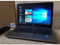 Mint HP Probook G1 640,Intel Core i5-4300M,8GB RAM,SSD,Win 10 Pro 64 Bit laptop