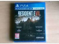 Resident Evil 7 Brand New Sealed VR PS4 PlayStation 4 Virtual Reality
