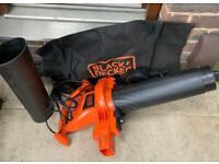 BLACK+DECKER GW2500-GB Corded Blower Vacuum, 2500 W