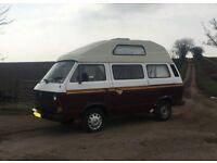 1983 VW T25 High Top Campervan