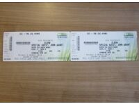 Elbow - Two Tickets (Standing) Hydro Glasgow - Friday 2nd March