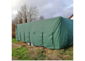 Caravan cover fit twin axle van