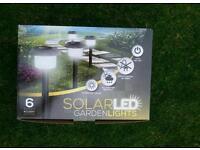 New garden led solar lights.