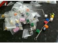 36 PIECES LEGO JEWELLERY QUIRKY RESALE CAR BOOT MARKET
