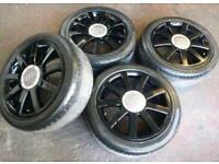 """17"""" AUDI A4 A5 VW caddy golf passat alloy wheels"""