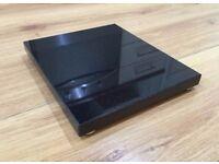 Granite isolation platform plinth speaker stands NERO BLACK 340x340x30mm + FEET NEW