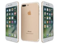 iPhone 7 Plus (Gold and White) 128 Gb.