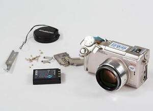 Partly disassembled Olympus C-770 camera
