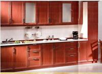 cabinets,doors and counter tops