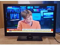 """BUSH LED 24"""" Tv/DVD Combi With Free-view In Very Good Condition"""