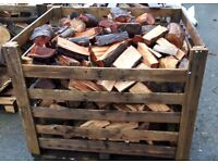 Firewood Semi-seasoned Hardwood logs