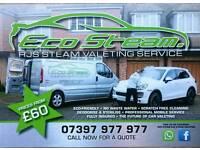 Vehicle steam valeting 💨💨💨💨Eco Steam