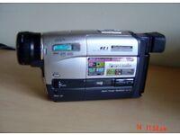 Panasonic VHS C Movie Camera