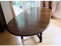 ERCOL OLD COLONIAL EXTENDING DINING TABLE