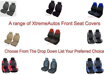 Selection of Front Universal Luxury Car Seat Covers   Set Of 2