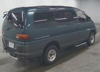1996 Mitsubishi Delica 50KMs LONG CRYSTAL ROOF