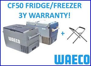 WAECO CF-50 PORTABLE FRIDGE FREEZER PACK INCLUDES COVER + FRIDGE STAND CF50