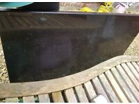 Black granite worktops x 2 pieces