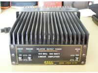 144 MHz 2 Metre 100W BNOS linear amplifier with pre amp