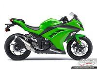 2015 Kawasaki Ninja 300 ABS Ninja 300 ABS EX300BFF
