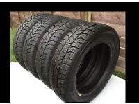 155/65 R14 Winter Tyres 4 X PIRELLI Snow Control Series 75T - Very Good Condition