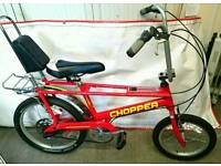 Raleigh Chopper Red in excellent condition