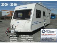 2009 BAILEY RANGER 540-6 - LIGHT 6 BERTH - TRIPLE BUNK - FULL AWNING + WARRANTY