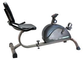Recumbent exercise bike in immaculate condition