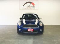 2007 MINI COOPER S ACCIDENT FREE!!! LOW MILLAGE,MINT CONDITION