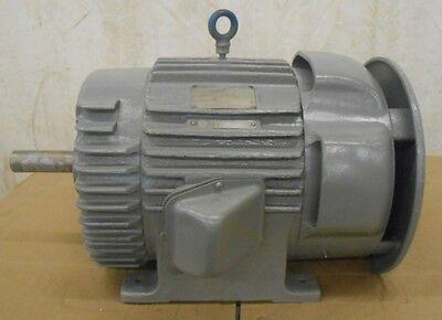 Ge General Electric Cotton Gin Motor 5k4286d24 20 Hp 1760 Rpm 220440 Volt