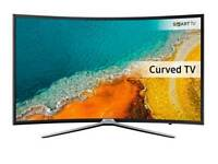 "Samsung Ue49k6300 49"" curved smart ultra HD led free view."