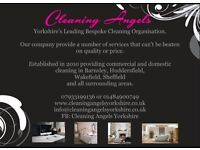 Cleaning Angels, Yorkshires leading bespoke cleaning organisation, offering high class cleaning