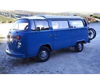 VW T2 Baywindow Campervan, Devon, 1976, Tax Exempt, Poptop