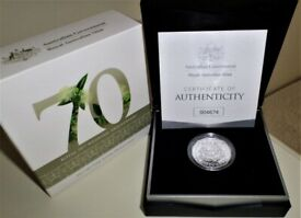 VERY RARE LIMITED EDITION 5,000 AUSTRALIA 2017 PLATINUM 70TH