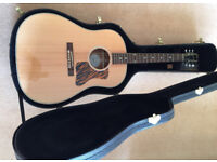 GIBSON J-35 ELECTRO ACOUSTIC ANTIQUE NATURAL