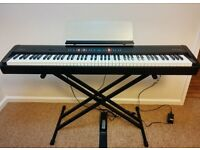 Roland FP-50 Stage Piano/Keyboard with Stand, Case, Pedal, and Music Stand