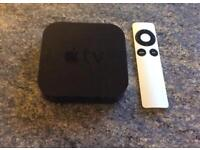 Apple TV 3rd Gen and Remote