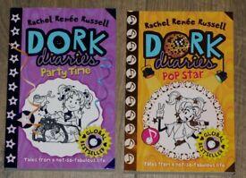 2 Dork Diaries Books