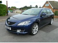 Top Spec 2010 Mazda 6 2.2D Sport Luxury Estate. P/X, Finance & Credit Cards Welcome