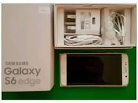 Samsung Galaxy S6 Edge (☉64GB) Brand New Condition