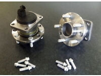 FORD MONDEO MK3 NEW REAR WHEEL HUBS BEARINGS WITH FITTING BOLTS JAGUAR X TYPE