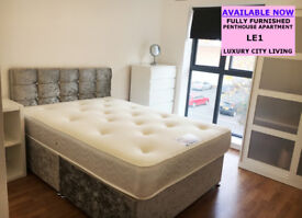 **AVAILABLE NOW** BRAND NEW LUXURY PENT HOUSE APARTMENT - CITY CENTRE LE1